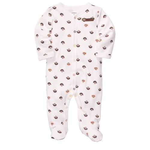 Carters Infant Boys Thanksgiving Turkey Sleep & Play - 6M front-134158