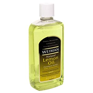 Weiman Furniture Polish Lemon Oil 16 Oz Pack Of 6 Wood Polish Office Products