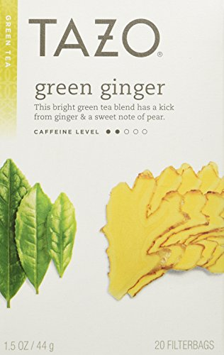 Tazo Green Ginger Tea -- 20 Tea Bags