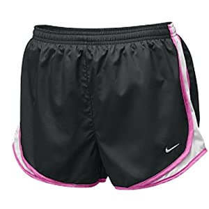 Ladies Black Tempo Short by Nike