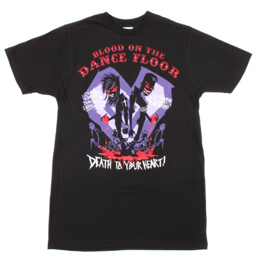 Blood On The Dance Floor Death To Your Heart T-Shirt Size : Medium