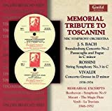 In Memory of Arturo Toscanini Issued By Walter Tos