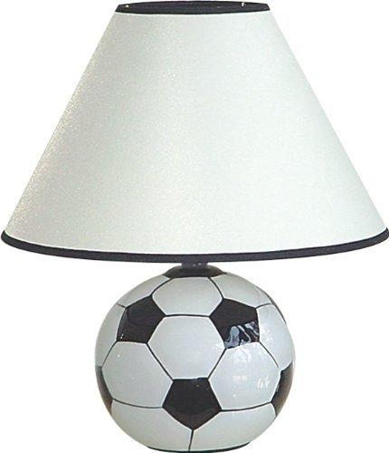 "S.H. International Ceramic Soccer Table Lamp 12""H"