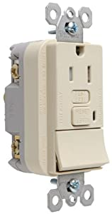 double single pole switch diagram pass & seymour 1595swttricc4 combination tamper-resistant ...