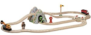Thomas & Friends Wooden Railway - Mountain Overpass Set (Now with James)