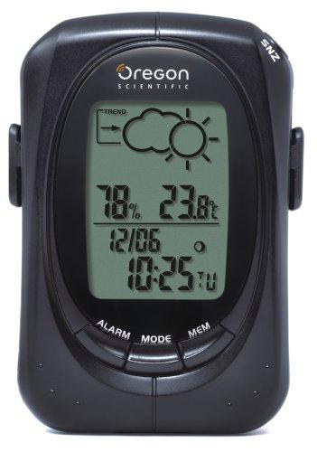 Oregon Scientific EB313 - Stazione metereologica portatile, colore: Nero