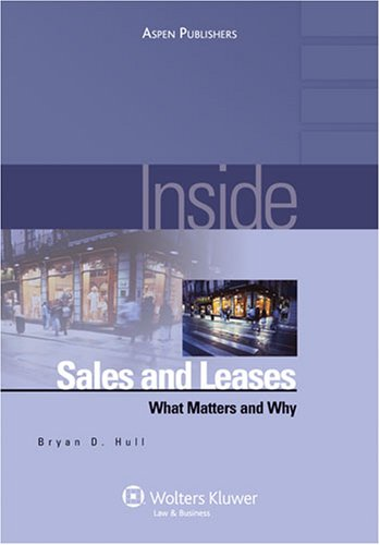 Inside Sales and Leases: What Matters & Why (Inside Series)