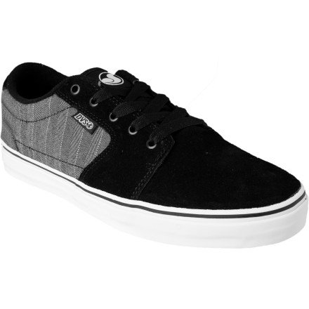 DVS Men's Convict Skate Shoe,Black Textile,11 M US