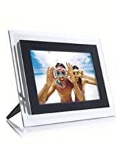 Philips 7-Inch Digital Photo Frame (Clear & Black)
