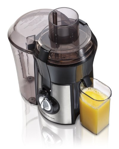Hamilton Beach Juice Extractor, Big Mouth, Metallic (67608A) (Extractor Juice compare prices)