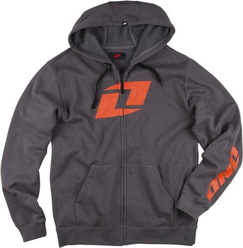 one-industries-mens-icon-fz-fleece-hoody-zip-sweatshirt-castlerock-large