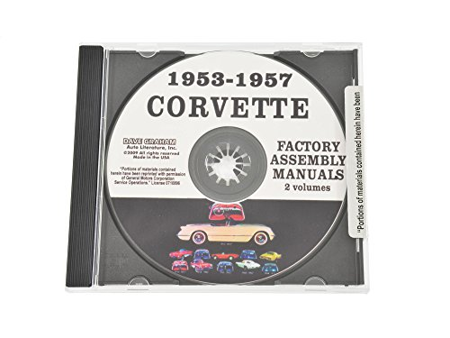 1953-1957 Corvette Assembly Manual Cd