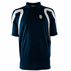 San Diego Padres Point Polo Shirt (Team Color) by Antigua