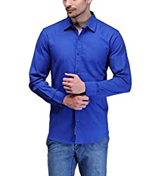 Feed Up Men's Cotton Solid Shirt