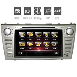 See 2Din Car DVD Player for TOYOTA CAMRY 8.0 Inch Digital Touchscreen with GPS Bluetooth Details