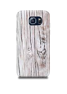 White Wooden Samsung S6 Edge Case