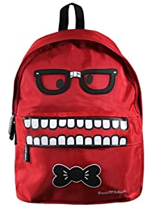 David and Goliath Nerdy Backpack DGGM4520RED
