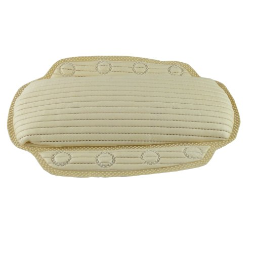 SOOTHING RELAXING MEMORY FOAM BATH PILLOW - WITH ANTI-BACTERIAL MATERIAL