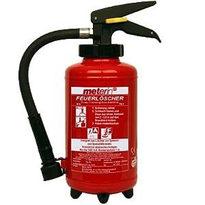 Meterin Feuerlöscher  Fettbrandlöscher  Fettbrand  Aufladelöscher 3 Liter MF 3 H 52 inkl. Halterung  BaumarktKundenbewertung und Beschreibung