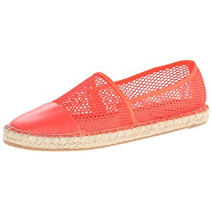 Circus by Sam Edelman Women's Lena Espadrille Flat,Electric Orange,8 M US