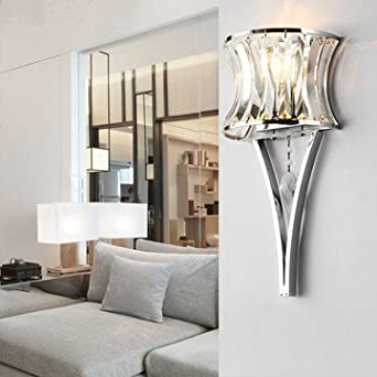 Modern minimalist wall lamp living room lamp crystal lamp foyer lamp bedside lamp aisle lights ...
