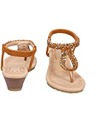 Ladies Chappals Hot Fashion 2016 New Arrival Branded Best Quality Footwear Lowest Price For Women & Girls, Daily... - B01GLB0Z5Q