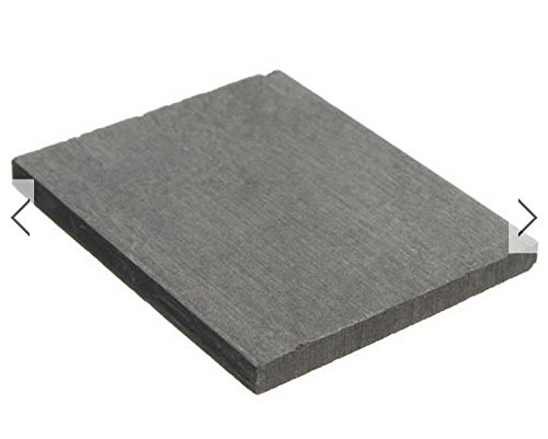 % Pure Graphite Plate Sheet For Lab Experiment 50X40X3