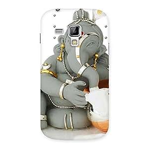 Cute Ganesha Ji Multicolor Back Case Cover for Galaxy S Duos