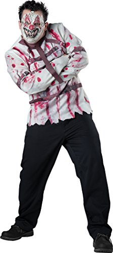 InCharacter Costumes Men's Plus-Size Circus Psycho Clown Costume