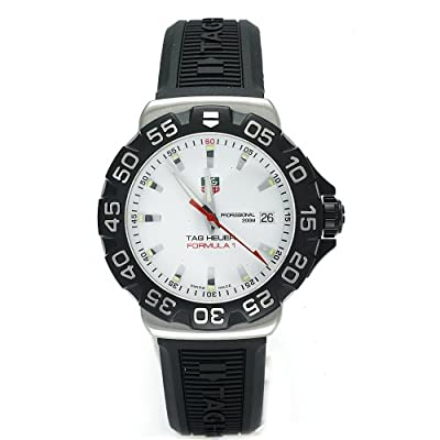 TAG Heuer Men's WAH1111.BT0714 Formula 1 Rubber Strap Watch by TAG Heuer