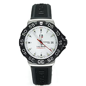 TAG Heuer Men's WAH1111.BT0714 Formula 1 Rubber Strap Watch