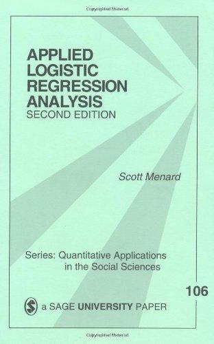 Applied Logistic Regression Analysis (Quantitative...