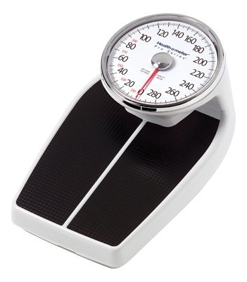 Cheap Grafco HOM160 Health O Meter Pro Series Large Raised Dial Personal Scale, Measures in Pounds, 2/cs (HOM160)