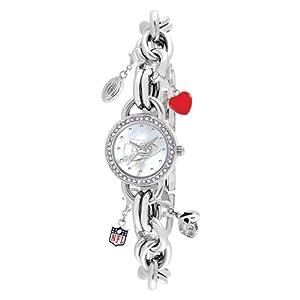 Ladies NFL Kansas City Chiefs Charm Watch by Jewelry Adviser Nfl Watches