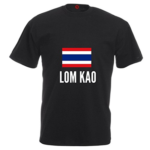 T-shirt Lom kao city black