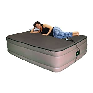 Smart Air Beds BD-9122GTMF Raised Memory Foam Air Bed with AirTek Comfort Control -... by Smart Air Beds