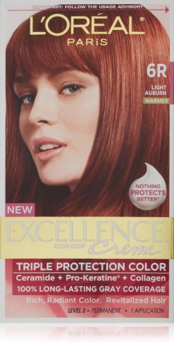 L'Oreal Excellence Hair Color Light Auburn