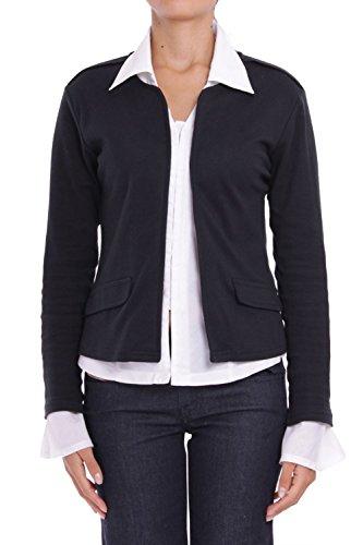 ANTA Q'ULQI - Giacca / Blazer in jersey 100% cotone Pima - nero, L