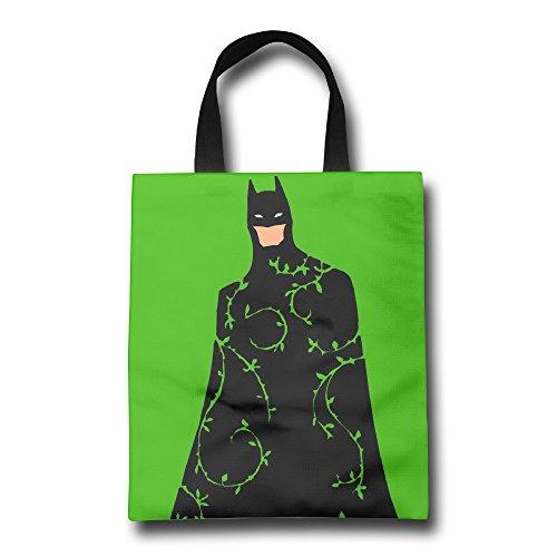 "HAOYANG Super Bat Hero Tote Bag From Polyester Canvas 16.9"" X 14"""