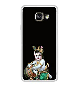 ifasho Lord Krishna stealing curd Back Case Cover for Samsung Galaxy A5 (2016)