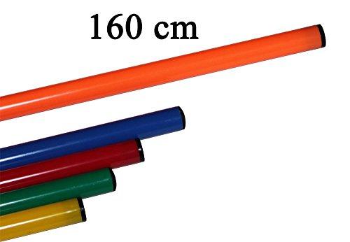 Bild von: Agility Hundesport - 10er Set Stangen, Länge 160 cm, Ø 25 mm, orange