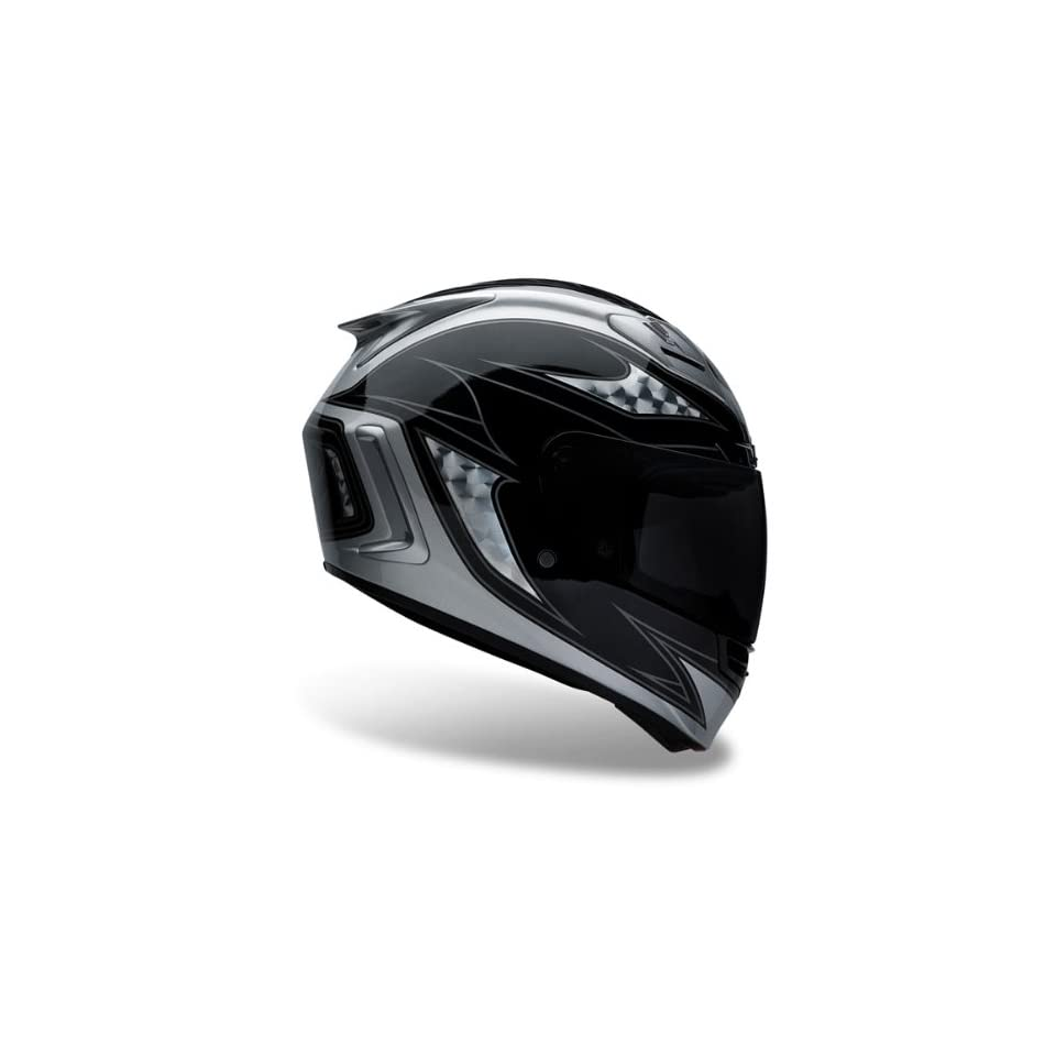 Bell Star Contra Black/Silver Full Face Motorcycle Helmet
