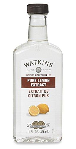 Watkins All Natural Extract, Pure Lemon, 11 Ounce  (Packaging may vary)