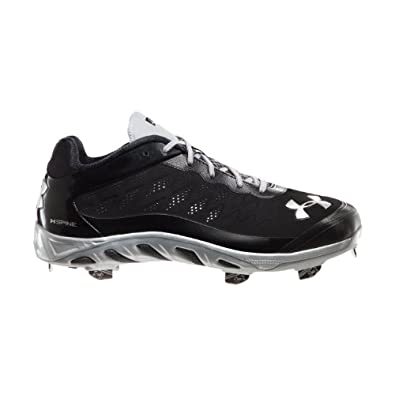 Under Armour Men's UA Spine™ Metal Baseball Cleats 8 Black