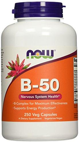 NOW Foods B-50, 250 Capsules