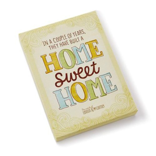 Hallmark LAM3113 Home Sweet Home Canvas Wall Art