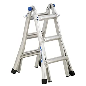 See Werner MT-13 300-Pound Duty Rating Telescoping Multi-Ladder, 13-Foot Full size and View details