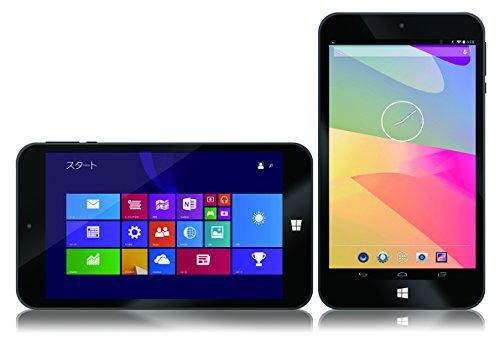 【安心の1年保証 / 充実の国内サポート / 日本語OS搭載】 Λzichi(あずいち) 7インチ Windows&Android OS タブレットPC AWOS-0701【Dual OS、WIN8.1with Bing/Android4.4、Atom Z3735G、1GB、32GB、IPS液晶、BT4.0】