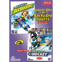 backyard skating backyard hockey two pack pc