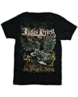 Official T Shirt JUDAS PRIEST Distressed SAD WINGS Angel Vintage All Sizes